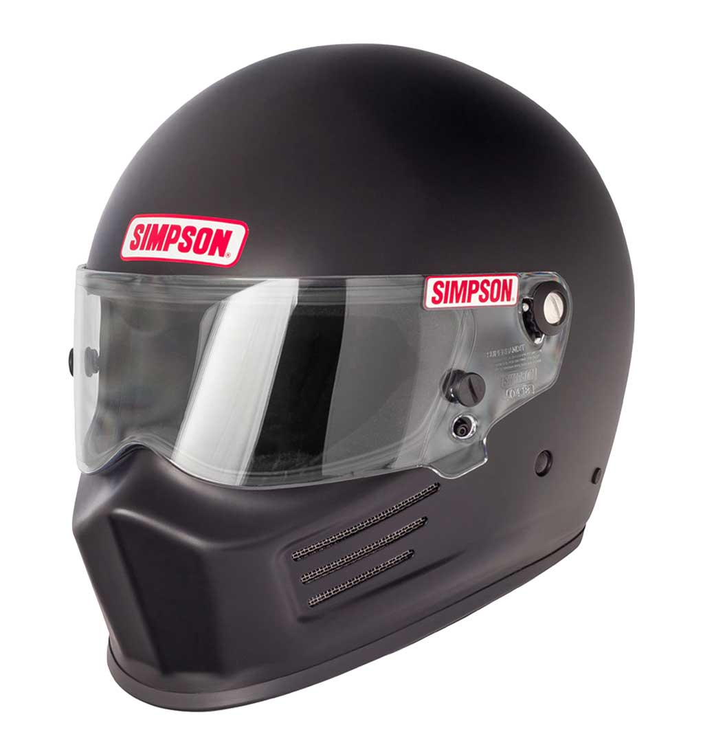 Simpson Bandit Helmet - SA2015 - Matt Black
